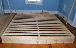 How To Build A Box Bed Frame The Feminist The Master Bed How We Built It