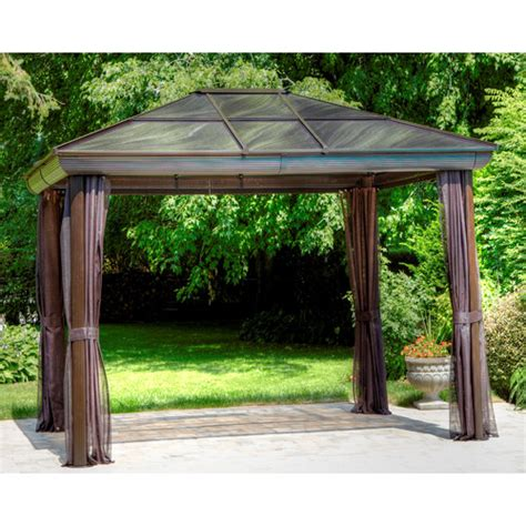 8x10 Outdoor Gazebo Gazebo Penguin Four Season 10 Ft W X 10 Ft D Gazebo