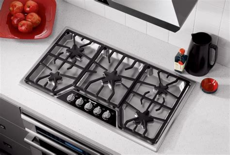 gas cooktop reviews the best high end 36 inch gas cooktops of 2018 reviewed