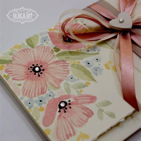 biglietti con fiori biglietto d auguri con fiori dipinti e strass fascia con