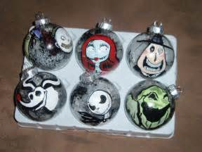 nightmare before christmas ornaments
