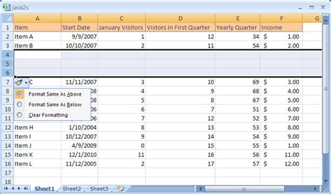 excel 2007 format multiple worksheets insert multiple columns or rows column row 171 workbook