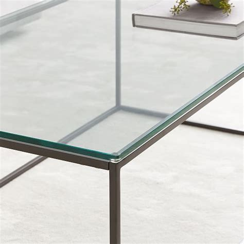 streamline coffee table elm streamline coffee table glass elm