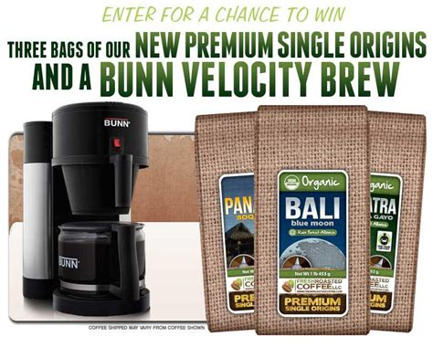 Velocity Sweepstakes - enter to win bunn velocity brew coffee maker coffee giveaway thrifty momma ramblings