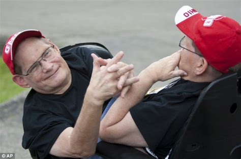 jim galyon ohio conjoined twins ronnie and donnie galyon 62 prepare
