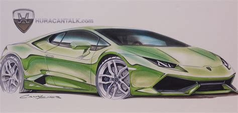 lamborghini huracan sketch lamborghini huracan drawing by enes canay for huracantalk com