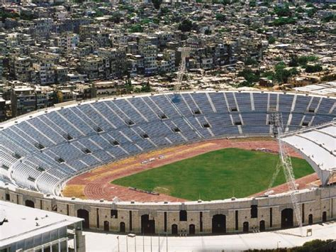 Places To Football Beirut Camil Chamoun Sports City Stadium Southern Suburb Olympic Venue Interesting Place Football