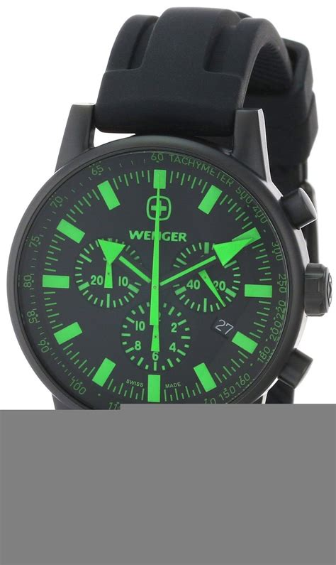 Swiss Army Rubber I Black Green wenger s 70891 swiss raid commando green accent black