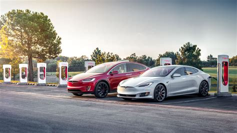 tesla model s supercharger 75d tesla model s and x vehicles get 0 60 mph bump
