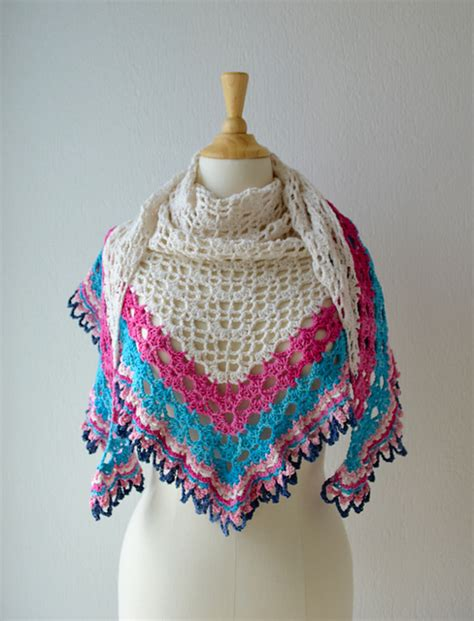 Crochet Pattern Galore | crochet patterns galore it s a sunny day shawl