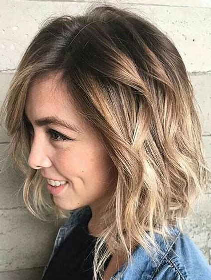 Medium Hairstyles for Winter Spring 2018 Brunette to