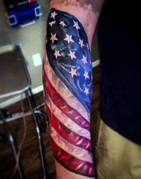 american flag forearm tattoo 30 patriotic american flag sleeve amazing