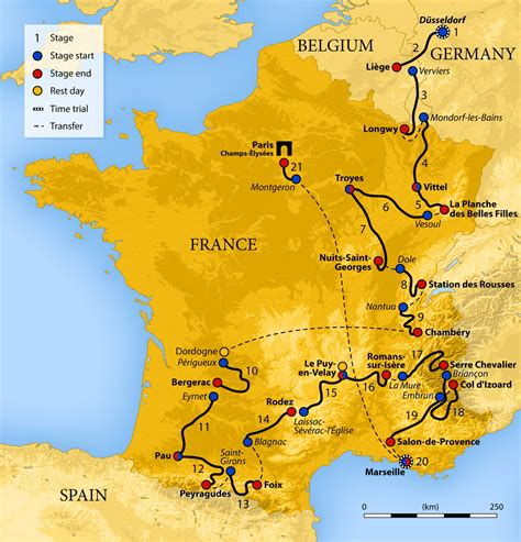 if you are on a tour to france then paris happens to be on top of 2017 tour de france wikipedia
