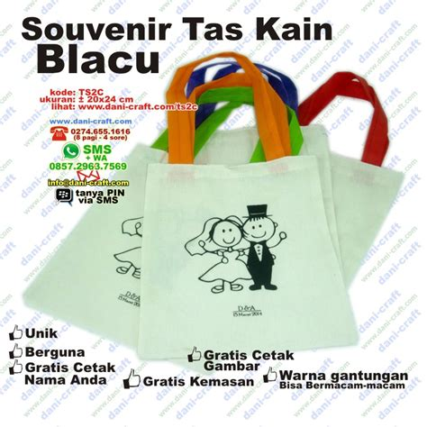 Toko Kain Spunbond Jogja souvenir tas murah souvenir pernikahan