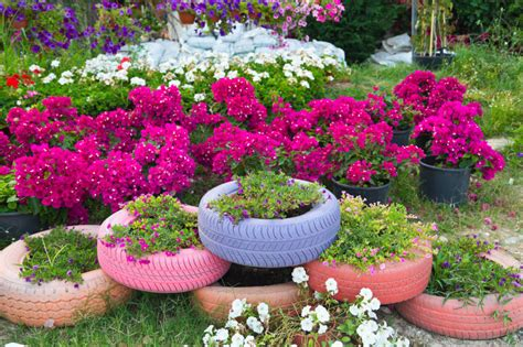 Planter Ideas by 29 Flower Tire Planter Ideas For Your Yard And Home