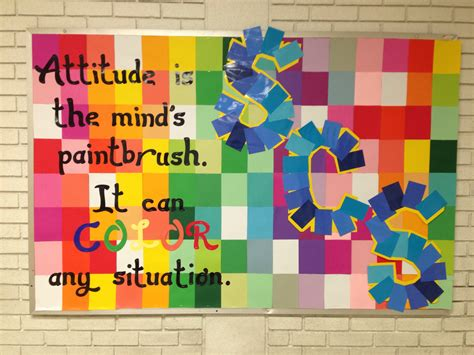 d cor og ra phy school of decorating spring bulletin board ideas middle school counselor