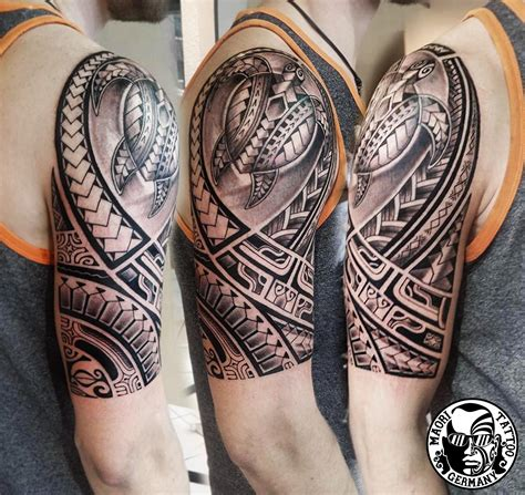 maori polinesische tattoos by mata tattoo studio art