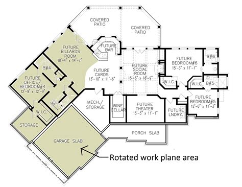 Using A Rotated Work Plane In Revit Best Cad Tips Revit House Plans