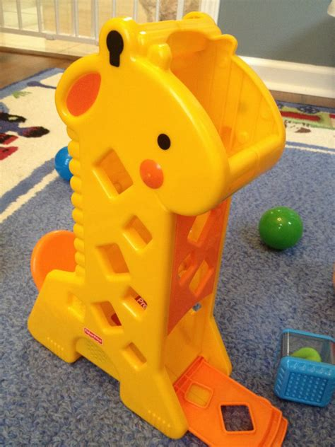 Mainan Anak Giraffe Kick Toys fisher price peek a blocks tumblin sounds giraffe