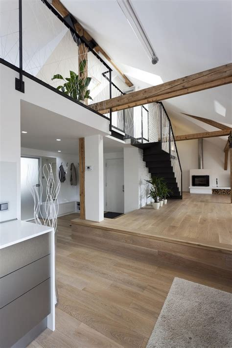 attic loft attic loft reconstruction by b2 architecture