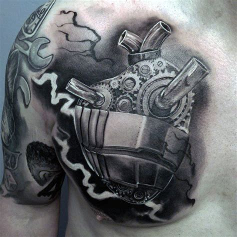 badass chest tattoos for men 100 badass tattoos for guys masculine design ideas
