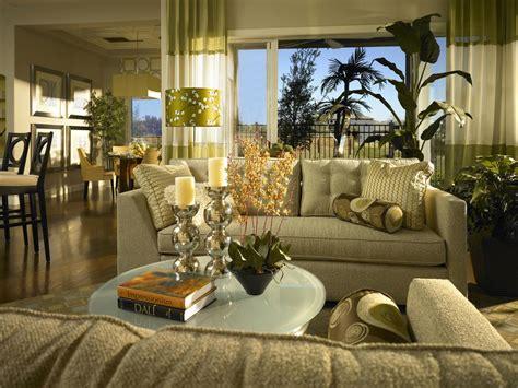 green curtains living room photos hgtv