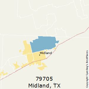 midland texas zip code map best places to live in midland zip 79705 texas