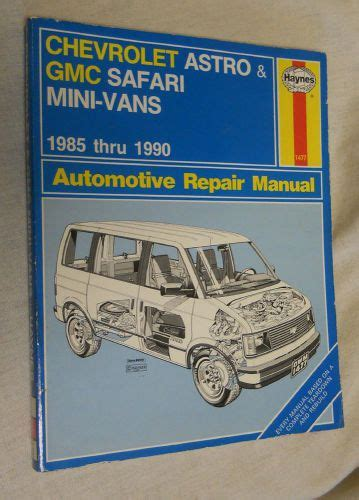 auto repair manual online 1994 chevrolet astro on board diagnostic system purchase haynes 1477 automotive repair manual chevrolet astro gmc safari mini vans motorcycle