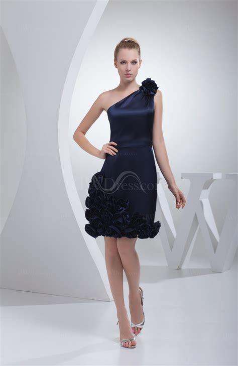 Blue Silk Backless Dress navy blue column backless silk like satin knee length