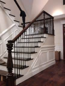 Antique Stairs Design Made Custom Newel Post And Stairs By Wm Pinion Furniture Custommade