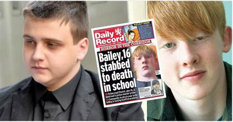bailey gwynne s killer who this is the teenager who stabbed tragic aberdeen schoolboy