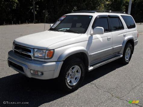 2000 Toyota 4runner Limited 2000 White Toyota 4runner Limited 4x4 54851538