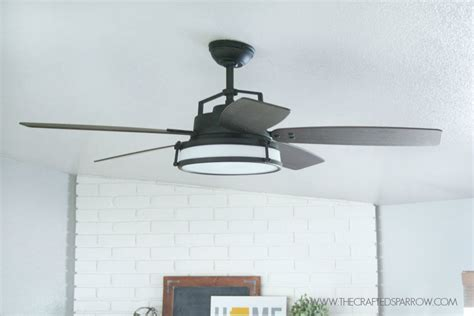 How To Instal A Ceiling Fan by How To Update Install A Ceiling Fan