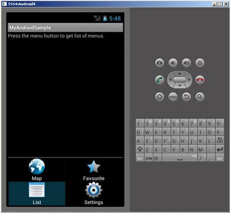 layoutparams xamarin android menu exle stacktips