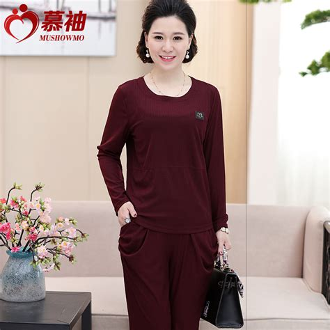 spring fashion 50 year old older women two suit spring wedding coat female 40 50 year