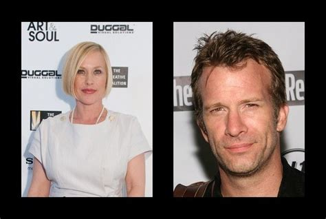 who is paricia arquettes new boyfriend patricia arquette was married to thomas jane patricia