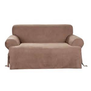 target sofa slipcovers sure fit suede t sofa slipcover target