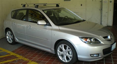 mazda 3 hatchback with roof rack the best mazda 3 roof racks for skis bikes kayaks and boxes