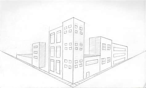 two point perspective city drawings search perspective unit city
