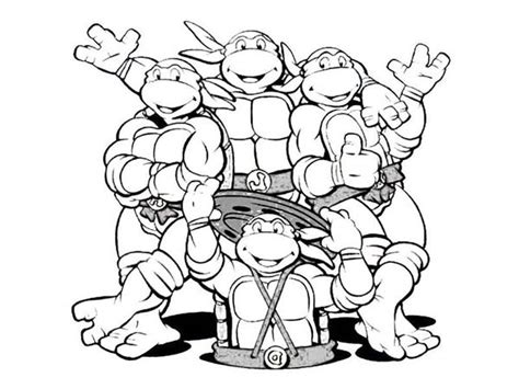 ninja turtles coloring pages coloring pages
