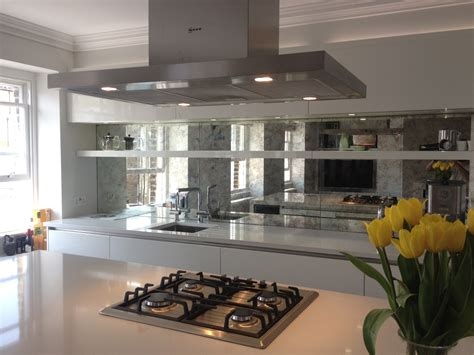 kitchen splashback ideas uk mirrored kitchen splashbacks saligo design presents a