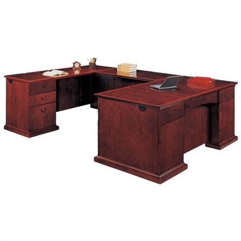 Executive U Shaped Desk Flexsteel Mar Executive U Shaped Desk 7302 5x