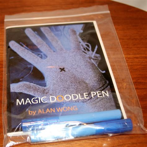 doodle pen magic trick magic doodle pen by alan wong martin s magic collection