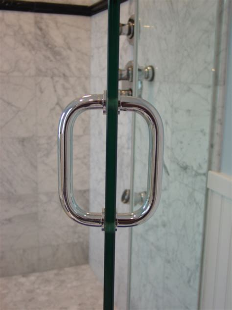 Glass Shower Door Handle by Shower Door Hardware