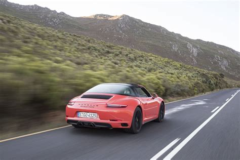orange porsche 911 convertible 2017 porsche 911 carrera 4 gts review gtspirit