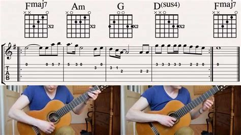 winner chords m 229 ns zelmerl 246 w heroes how to play on guitar with tabs