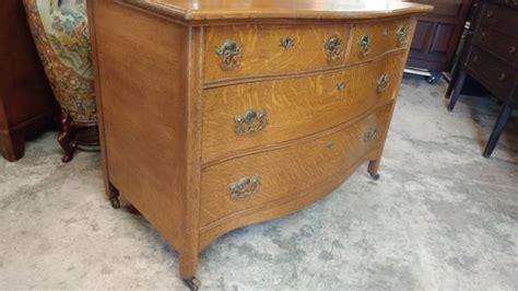 Quarter Sawn Oak Dresser by Antique Large Oak Dresser Tiger Quarter Sawn Oak