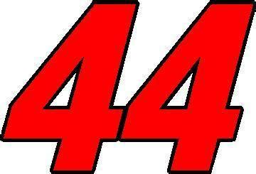 Height Chart Wall Stickers nascar decals 44 race number 2 color switzerland font