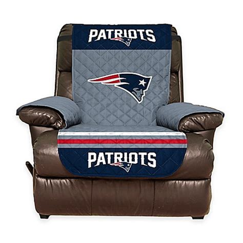 patriots chair nfl new patriots recliner cover bed bath beyond