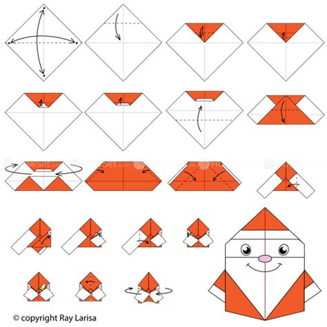 how to make a santa origami santa claus animated origami how